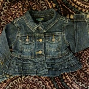 Girls Toddler Jean Jacket